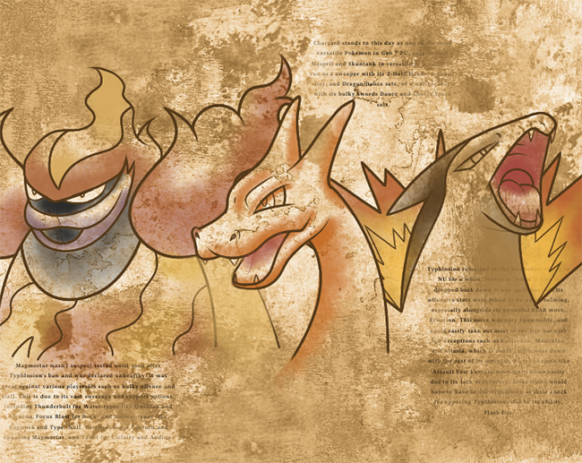 History Of Fire Types In Gen 7 Pu Smogon University