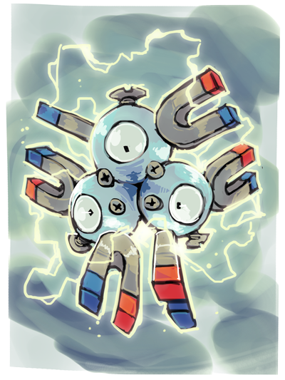 Pokemon Magneton S Powers Images