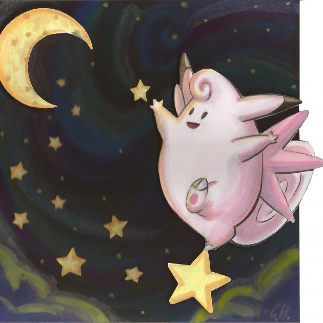 What moves does clefable learn in red