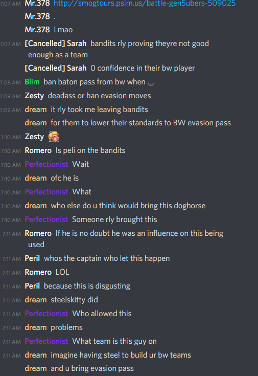 Immediate reaction to evasionpass in upl.PNG