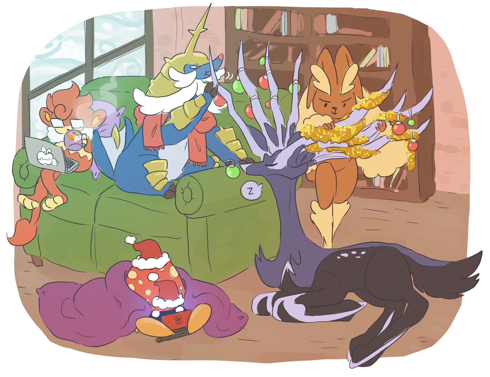 megas for (h)all(idays).png