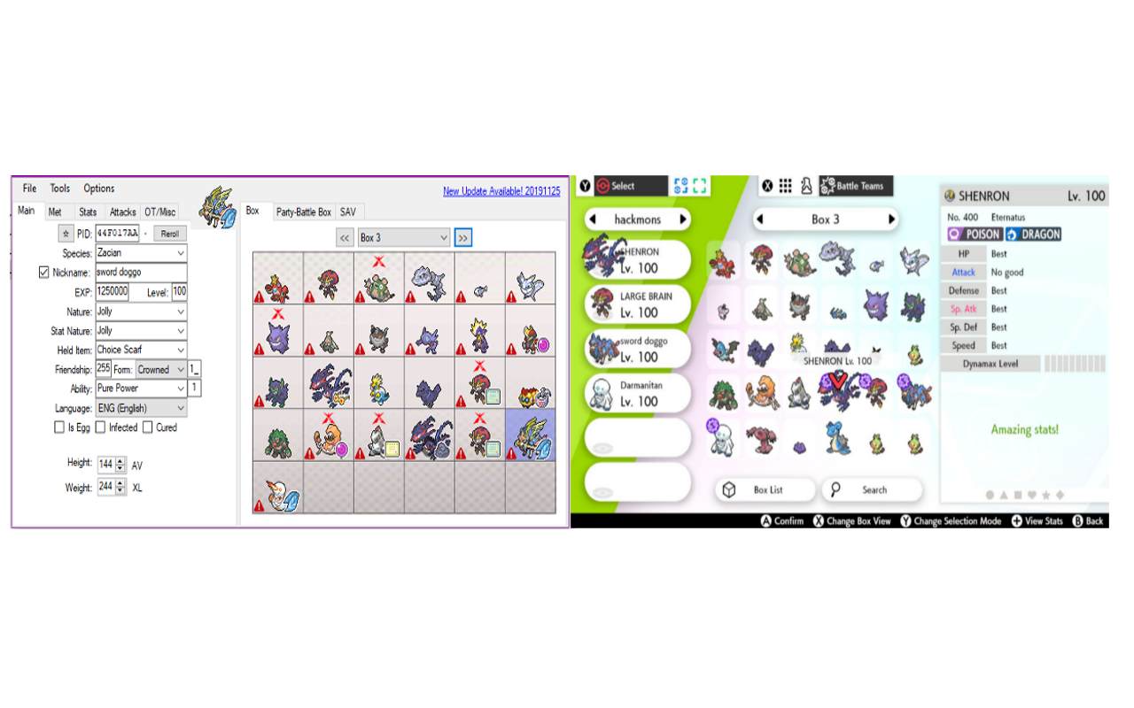 pkhex in game comparison.png