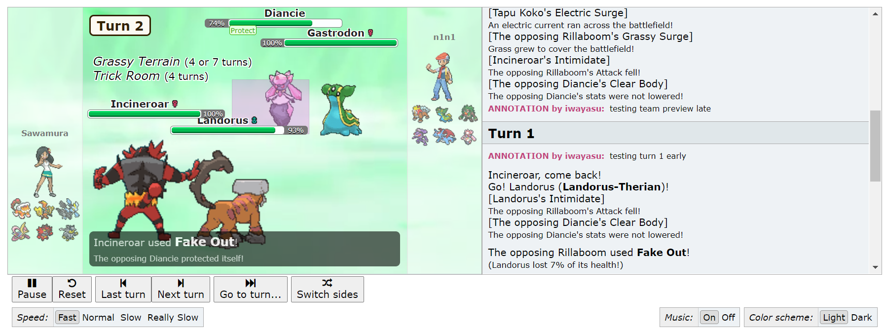Programming Pokemon Showdown Replay Annotator Smogon Forums It is the final form of grookey. pokemon showdown replay annotator