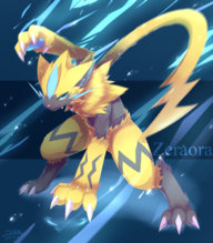 Zeraora Smogon Forums Even if they dodge its attack, they'll be electrocuted by the flying sparks. zeraora smogon forums