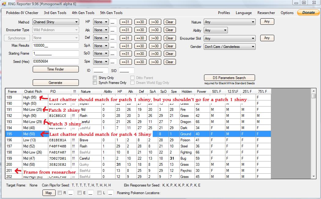 DPP / HGSS RNG Manipulation Guide Part 5 - Cute Charm TID